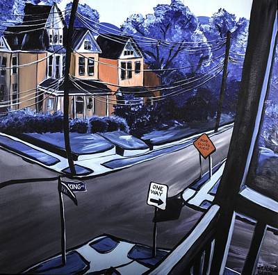 Painting - Corner View by Jennifer Noren