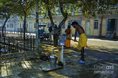 Photograph - Corner Water Pump by Rick Bragan