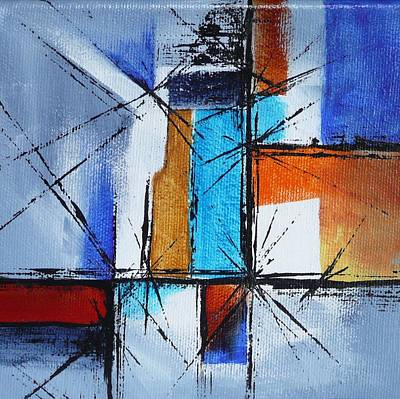 Painting - Corners by Jo Appleby