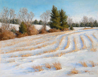 Painting - Cornfield Curves by Gary Huber