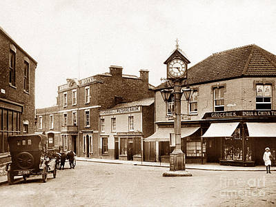 Cornhill Highbridge England Art Print by The Keasbury-Gordon Photograph Archive