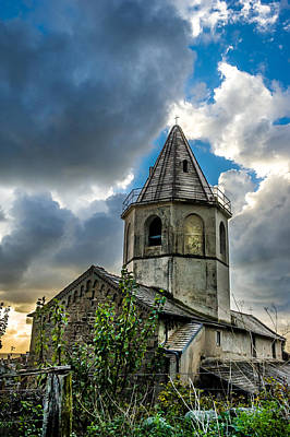 Photograph - Corniglia Bell Tower by Jed Smith