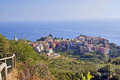 Photograph - Corniglia  by Rod Jones
