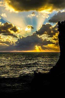 Photograph - Corniglia Sunset - 2 by Jed Smith