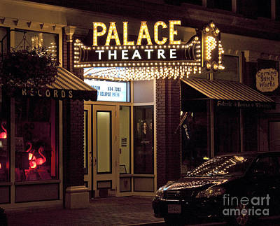Art Print featuring the photograph Corning Palace Theatre by Tom Doud