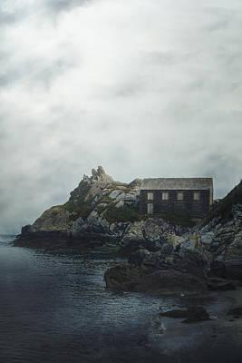 Cornish Cottage Art Print by Joana Kruse