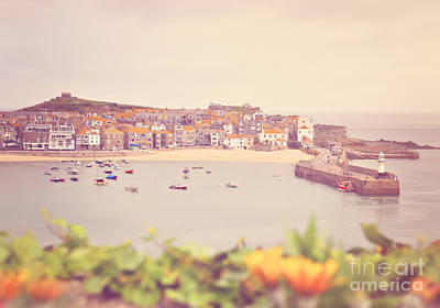 Cornish Harbour Art Print by Lyn Randle