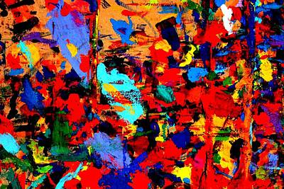 Abstract Expressionism Painting - Cornucopia I  by John  Nolan