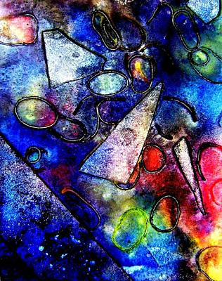 Jazz Mixed Media - Cornucopia by John  Nolan