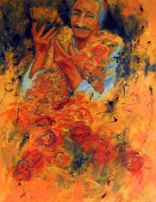 Meher Baba Painting - Cornucopia Of Love by Joe DiSabatino