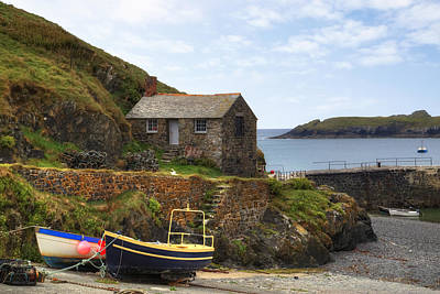 Cornwall - Mullion Cove Art Print