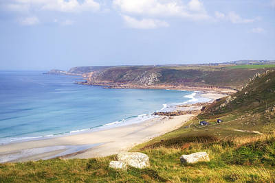 Sennen Cove Photograph - Cornwall - Sennen Cove by Joana Kruse