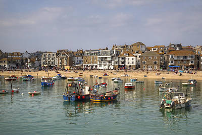 St Ives Wall Art - Photograph - Cornwall - St Ives by Joana Kruse