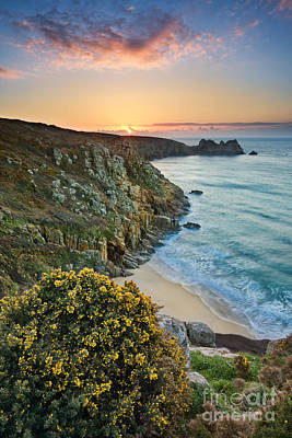 Cornwall Sunrise Art Print
