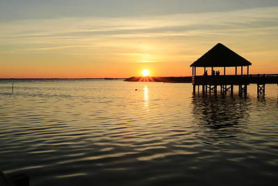 Photograph - Corolla Sunset by Brenda Schwartz