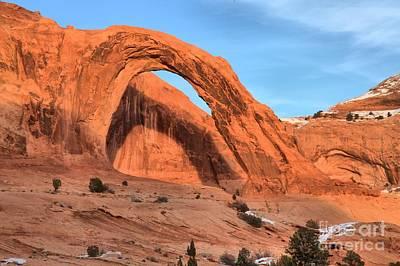 Photograph - Corona Arch Canyon by Adam Jewell