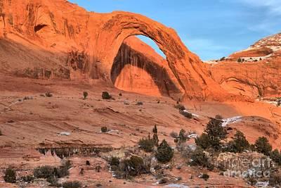 Photograph - Corona Arch Landscape by Adam Jewell