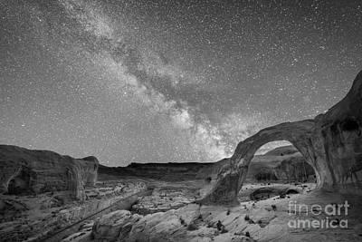 Corona Arch Milky Way Bw Original by Michael Ver Sprill