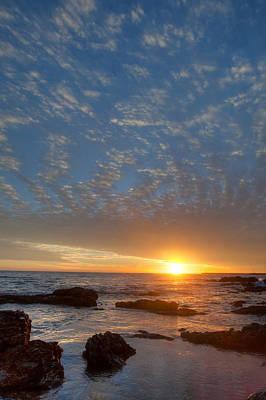 Photograph - Corona Del Mar Cloudscape by Cliff Wassmann