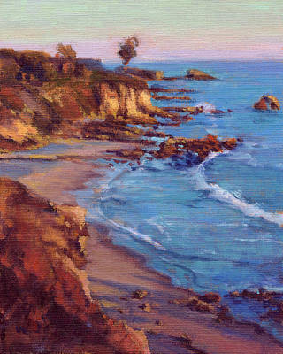 Painting - Corona Del Mar Newport Beach California by Konnie Kim