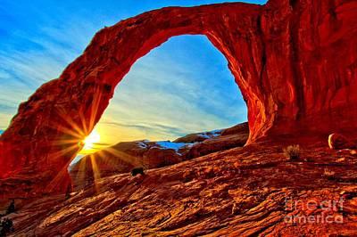 Photograph - Corona Sun Burst by Adam Jewell
