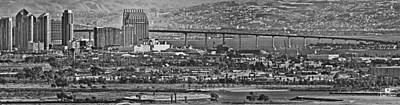 Tijuana Photograph - Coronado Bay Bridge by Russ Harris