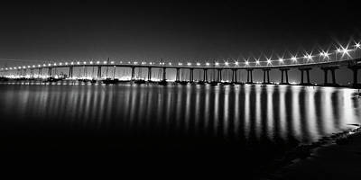 Photograph - Coronado Bay Bridge by Ryan Weddle