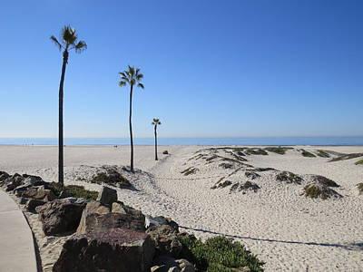 Photograph - Coronado Beach 1 by Nina Donner