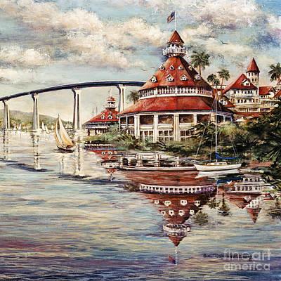 Painting - Coronado Centennial by Glenn McNary