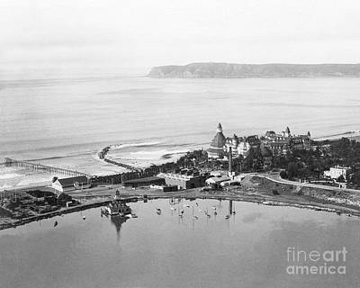 Coronado From Above 1920's Art Print