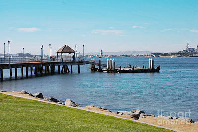 Photograph - Coronado Pier by Claudia Ellis