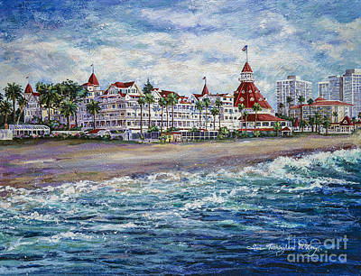 Painting - Coronado Shores by Glenn McNary