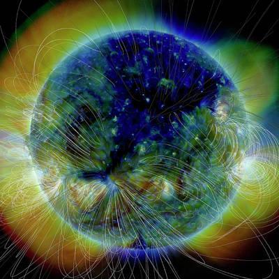2000s Photograph - Coronal Hole by Nasa/solar Dynamics Observatory