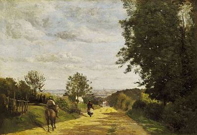 Realistic Photograph - Corot, Jean-baptiste Camille 1796-1875 by Everett