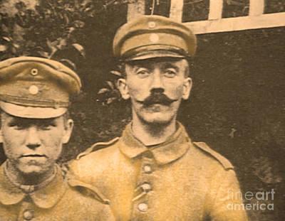 Hitler Photograph - Corporal Adolf Hitler by Al Bourassa