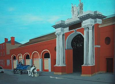 Corporation Fruit Market Dublin Original by Tony Gunning