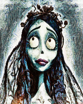 Corpse Bride Art Print