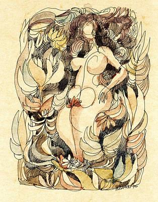 Corpulence Art Print by Horst Braun