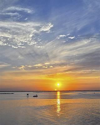 Photograph - Corpus Christi Sunset by Kristina Deane