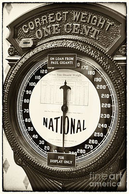 Photograph - Correct Weight by John Rizzuto