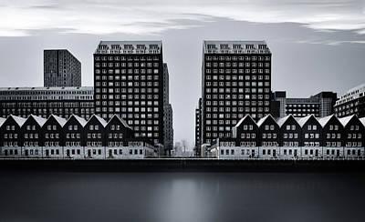 Rotterdam Photograph - Corridor by Ercan Sahin