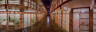 Infamous Photograph - Corridor Of A Prison, Alcatraz Island by Panoramic Images