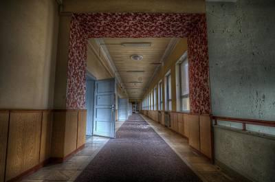 Digital Art - Corridors Of Propaganda   by Nathan Wright