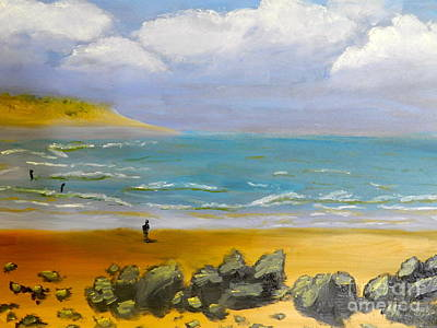 Corrimal Beach Art Print