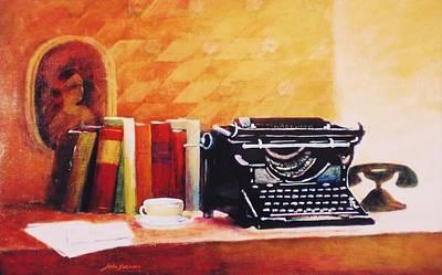 Painting - Corrispondance  by John  Svenson