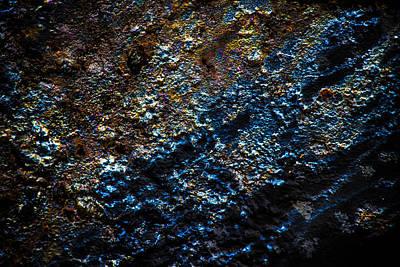 Pump Jack Corrosion 2 Art Print by Tabitha Williams