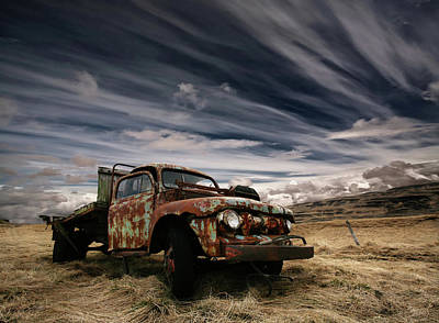 Rusted Cars Photograph - Corrosion by ?orsteinn H. Ingibergsson