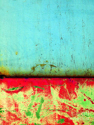 Photograph - Corrosion by Tara Turner