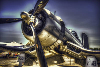 Corsair Airplane Art Print by Spencer McDonald