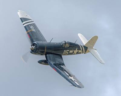 Photograph - Corsair by Jeff Cook